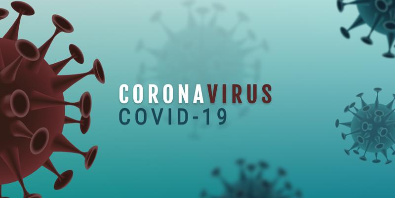 Grafik vom Coronavirus