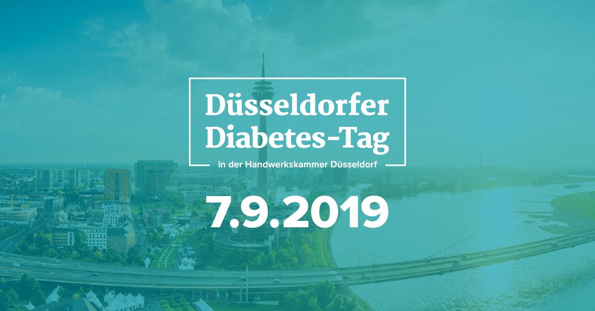 Terminhinweis Düsseldorfer Diabetes-Tag am 07.09.2019