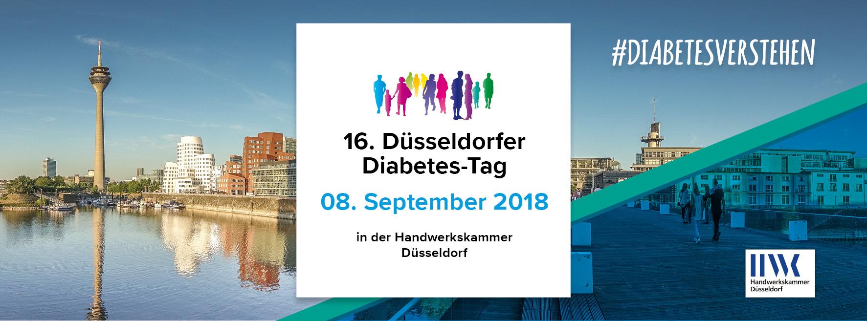 Banner Düsseldorfer Diabetes-Tag 2018