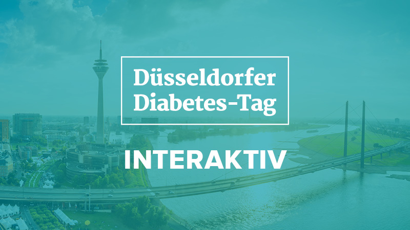 Düsseldorfer Diabetes-Tag: 2020 als digitales Event