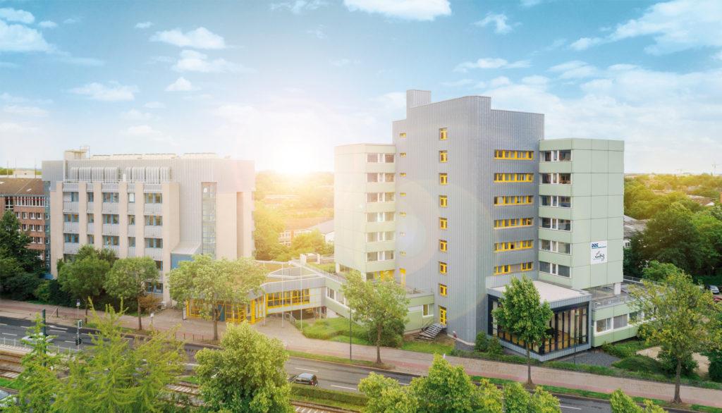 Das Gebäude des DDZ in Düsseldorf
