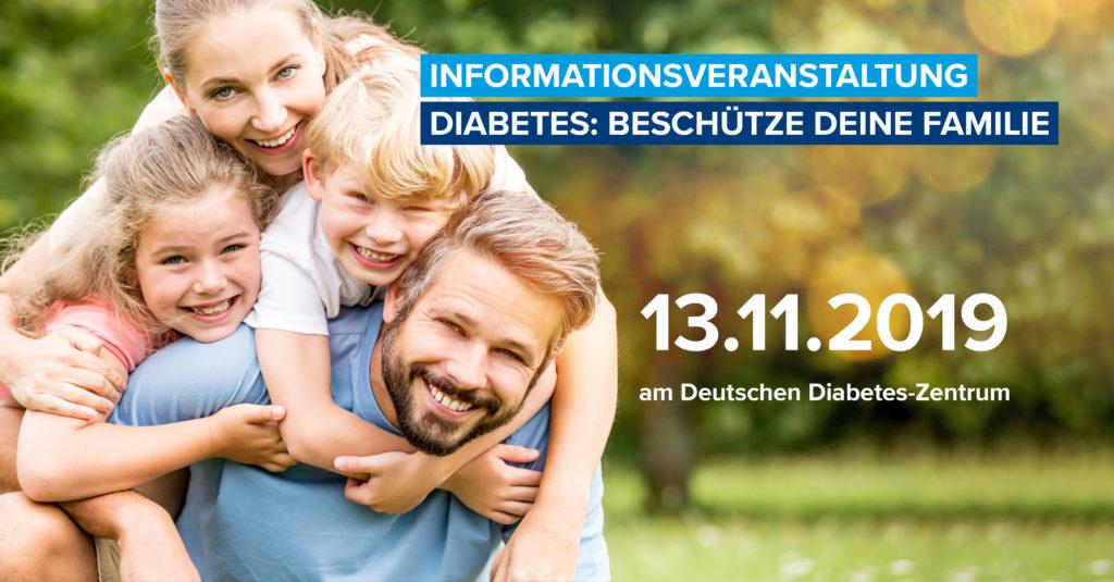 """Bild der Veranstaltung: Informationsveranstaltung """"Diabetes: Beschütze deine Familie"""" zum Weltdiabetestag"""