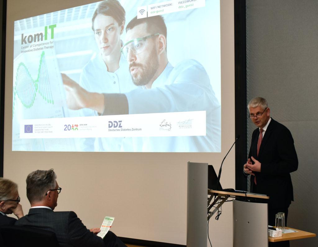Christoph Dammermann, Staatssekretär im Ministerium für Wirtschaft, Innovation, Digitalisierung und Energie des Landes Nordrhein-Westfalen