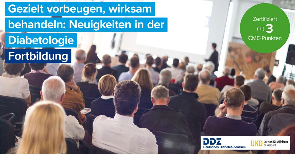 """Fortbildungsveranstaltung des DDZ und UKD zum Thema """"Gezielt vorbeugen, wirksam behandeln: Neuigkeiten in der Diabetologie"""""""