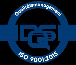 Zertifiziert nach ISO 9001-2015