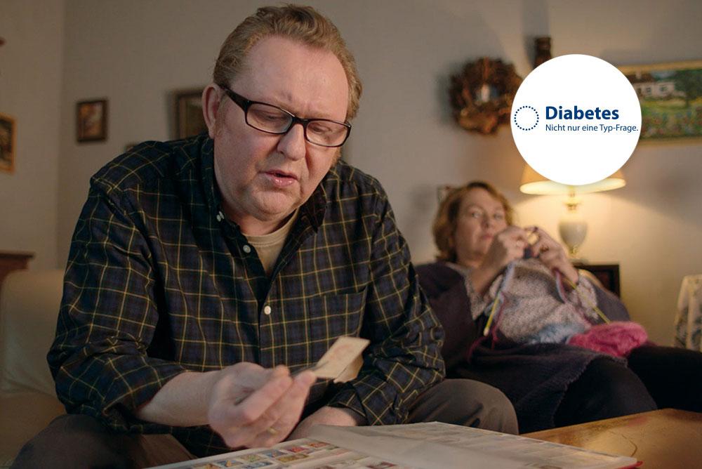 """Ausschnitt aus einem Filmvorspann der bundesweiten Initiative """"Diabetes - Nicht nur eine Typ-Frage"""""""