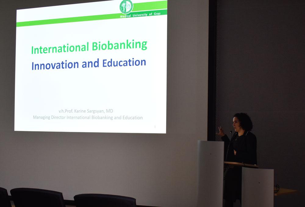 Bild der Veranstaltung: DDZ Seminar – Frau Karine Sargsyan