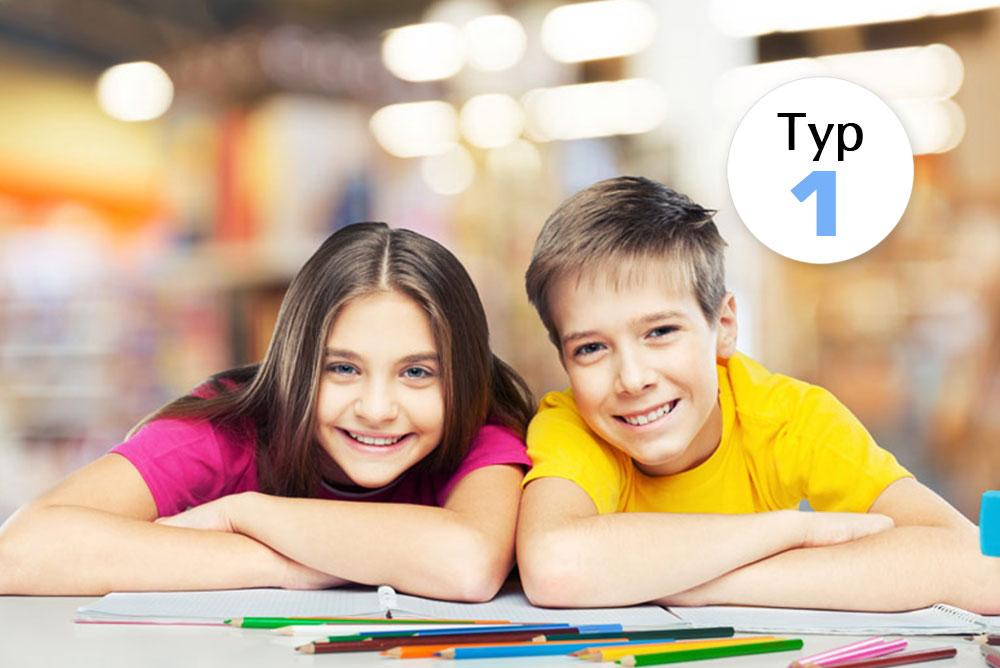 Zwei Jugendliche nehmen an Typ-1-Studie teil